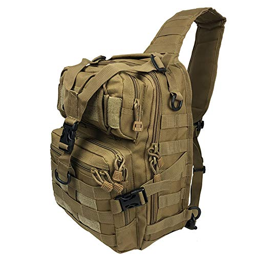 TnXan Military tactical assault bag sling backpack army small rucksack waterproof backpack bag travel backpack Hiking Backpack outdoor hiking camping hunting 20L