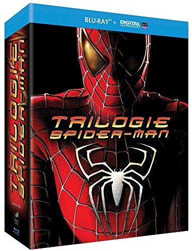 Spider-Man Origins : Spider-Man 1 + Spider-Man 2 + Spider-Man 3 [Blu-ray + Copie digitale]