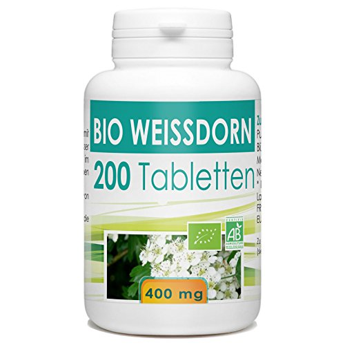 Bio Weissdorn 400mg - 200 Tabletten