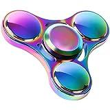 Fidget hand Spinner, innislink Hand Spinner Toy y relajarse Ultra Rápido Rodamientos Juego Sensorial Perfecto para niños / adultos Mano toy(color mezclado)
