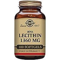 Solgar Lecithin 1360mg 100 Softgels preisvergleich bei billige-tabletten.eu