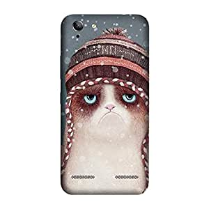 GADGETS WRAP Printed Back cover for Lenovo K5 winter cat