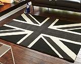 Enfants Chambre d'enfant Motif Funky 'Union Jack Noir/Gris...