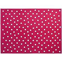 Lorena Canals A-G DOT-F Dots Fuchsia/Rosso, 140 x 200 cm