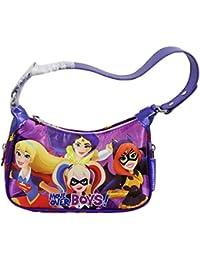 DC Super Hero Girls Bolso Infantil al Hombro de Mano Fancy Moda Nina Chicas