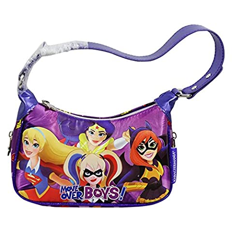 DC Comics Super Hero Girls Bag Shoulderbag Baguette Pochette Fancy