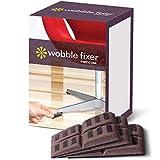 Unterlegscheiben von Wobble Fixer Metric USA Weich Möbel Nivellierer sind stapelbar und anpassbar (Set von 12)