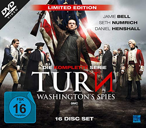 Turn - Washington's Spies: Complete Edition (Staffel 1-4) [16 DVDs]