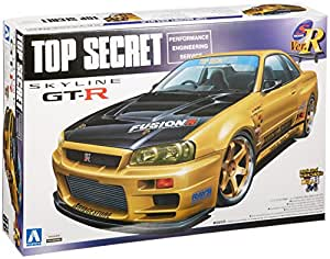 1/24 Skyline GT-R(R34)Top Secret