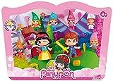 Pinypon - 700012750 -  Mini Poupée - Blanche Neige et les 7 Nains avec Prince