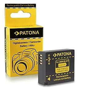 Batterie DMW-BLG10 DMW-BLG10E pour Panasonic Lumix DMC-GF6 | Lumix DMC-GX7 et bien plus encore… [ Li-ion; 750mAh; 7.2V ]