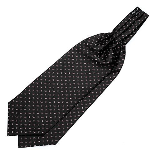 PenSee - Cravate - Homme Small Paisley-Black