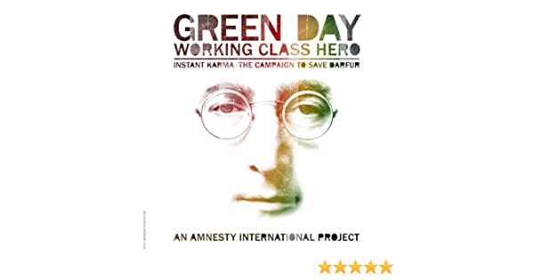 Working class hero promo cds green day mp3 buy, full tracklist.