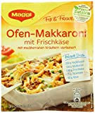 Maggi Fix Ofen Makkaroni mit Frischkäse, 38er Pack (38 x 39 g)