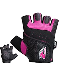 RDX Women's Weight Lifting Gym Gloves Crossfit Training Ladies Bodybuilding Fitness Exercise