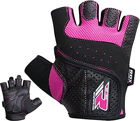 RDX Gym Weight Lifting Gloves Women Workout Fitness Ladies Bodybuilding