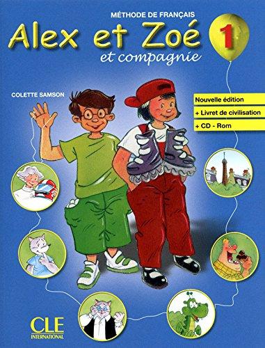 Alex et Zoé - Niveau 1 - Livre + CD Rom
