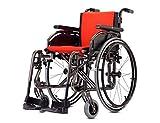 Silla de ruedas ajustables, color titanio