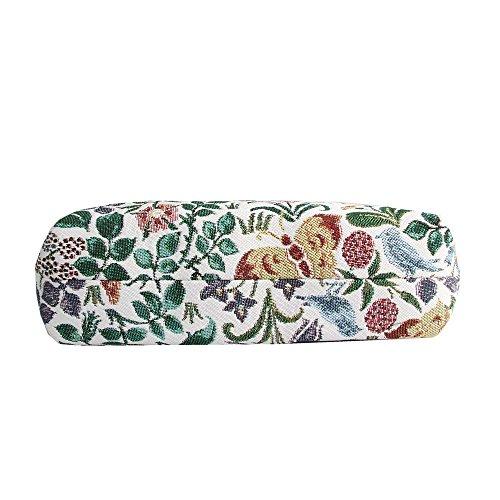 Borsetta donna Signare alla moda in tessuto stile arazzo a spalla borsa messenger a tracolla floreale Flor de primavera