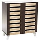 AFT Wooden Fancy Shoe Cabinet - Multi Color