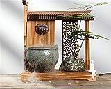 shunlidas Decorazioni Casa Windbells Arredamento Pezzi da Collezione Stile Cinese Zen Decorazione   Feng Shui Fontana di Acqua Artigianato in Ceramica Ufficio Desktop Ornamenti