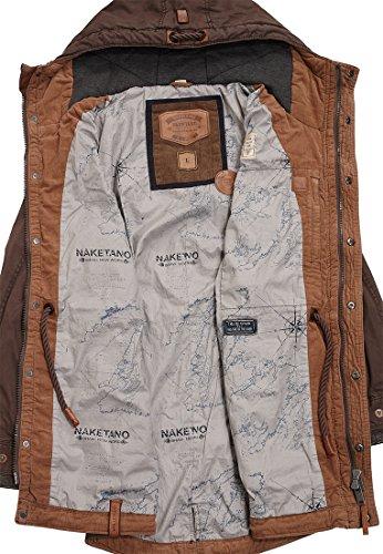 Naketano Male Jacket Kommissar Rizzo Brownie