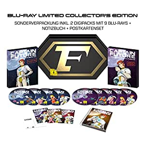 Captain Future Komplettbox BD (Limited Collector's Edition exklusiv bei Amazon.de) [Blu-ray]