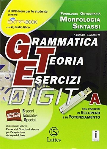 Grammatica teoria esercizi. Per la Scuola media. Con e-book. Con espansione online. Con Libro: Prove ingresso: A-B-C