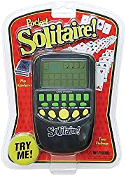 Solitaire Hand Held Electronic Arcade Game