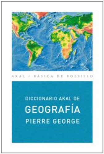 Diccionario de Geografía (Ed. Económica) (Básica de Bolsillo) por Pierre George
