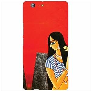 Gionee Marathon M5 Back Cover - Red Designer Cases