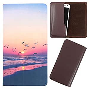 DooDa - For Lenovo A600E PU Leather Designer Fashionable Fancy Case Cover Pouch With Smooth Inner Velvet