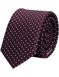 Seidenweiche Fabio Farini Krawatte 8 cm in verschiedenen Farben, für Hochzeit Buisness