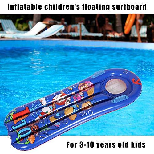 Kinder Aufblasbare Pool Schwimmt Schwimmen Flöße Surfboard Aufblasbare Pool Matratze Kinder Wasser Schwimmspielzeug für Sommer Strand Schwimmbad -