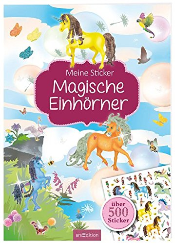 Meine Sticker: Magische Einhörner (Mein Stickerbuch)