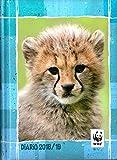 WWF Agenda daté 12mois, format standard 13x 17,8cm