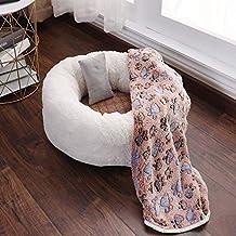 YSDTLX(Cama para perro) Sueño Profundo Casa De Gato Invierno Cálido Mascota Nido Perro