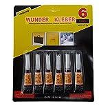 Handycop 6er Set - Superkleber / Sekundenkleber - 6x 3g = 18 Gramm