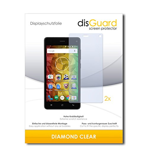 2 x disGuard® Bildschirmschutzfolie Medion Life E5001 Schutzfolie Folie