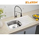 Best Kitchen Sinks - Klaxon Kitchen Sink - Stainless Steel, Solange Large Review