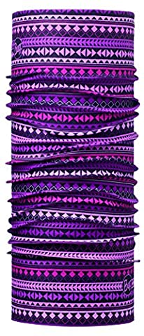 BUFF JUNIOR Foulard Multifonctionnel Diamants, violet, Polyester, taille