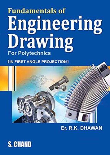 Fundamentals Of Engineering Drawing Ebook R K Dhawan Amazonin