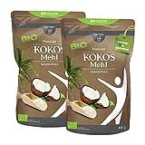 2 x borchers bio farine de noix de coco biologique (2 x 400 g)