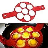 Oderola Anelli in Silicone antiaderente per Uova Stampi Pancake Fantastic Fast & modo semplice perfetto Pancakes immagine