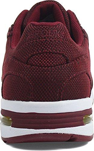 Brooks Uomo Syrah Academia Fusion sneaker Borgogna