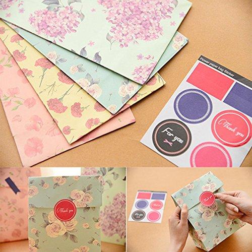(Beautyrain 3 PC Papier Geschenk Taschen Box für Urlaub Hochzeit Abschlussfeier Gunst Geschenke)