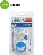 Dr. Brown's Perform Orthodontic Soother (Stage 3 (18m+), Blue)