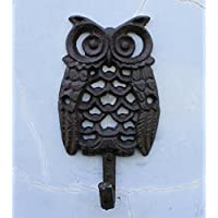 Retro Hook/Coat Hook/Mother-Child Owl Hooks-A
