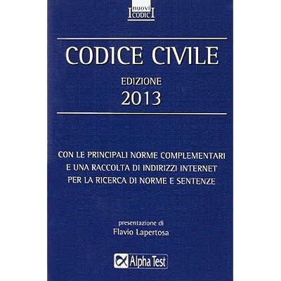 Codice Civile 2013