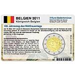 Aus welchem Anlass wurde die 2-Euro-Gedenkmünze Belgien 2011 geprägt? - Die Antwort gibt Ihnen diese Münz-Infocard.  Auf Wunsch - gegen Aufpreis - auch mit Original 2-Euro-Gedenkmünze und Münzkapsel lieferbar.  Mit dieser Münz-Infocard erhalten Sie u...